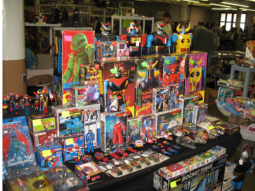 Toy Show - An incredible selection of 70s Shogun Warriors