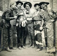 Cowboy Coworkers (Bodie Bailey) Tags: california family history cowboys losangeles hollywood bailey western movies guns gaw ida moviestars silentmovies christiestudios