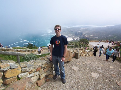 View from the top of The Cape of Good Hope