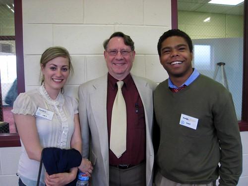 Classmates with our physics teacher