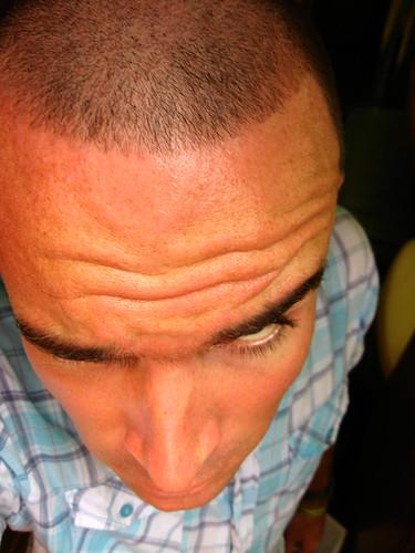 Caribbean haircut (Turks and Caicos Islands)