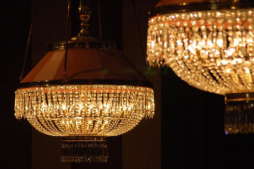 Chandeliers by american lady.