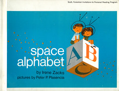Space Alphabet (wardomatic) Tags: illustration book space alphabet childrensbook midcentury vintagebook spaceexploration retrokid vintageillustration