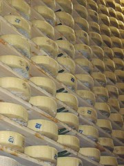 Yes, it's a wall of cheese. (Food Philosophy) Tags: venice italy asiago altoadige speck chefmark foodphilosophy jenniferiannolo culinarypodcastnetwork gildedfork