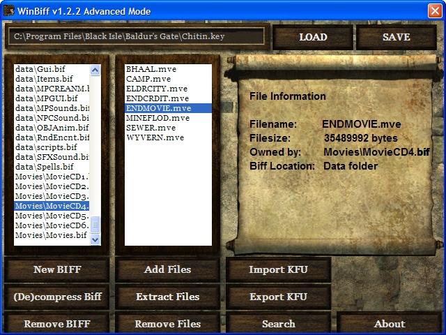 screenshot - WinBiff