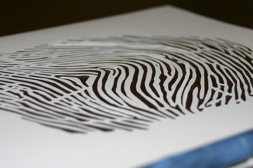 how to get fingerprints on paper