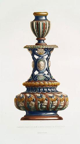 003-Candelabro-coleccion Baron Alphonse de Rothschild-Monographie de l'oeuvre de Bernard Palissy…1862