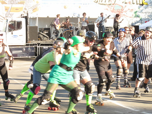 Roller Derby & Rock and Roll