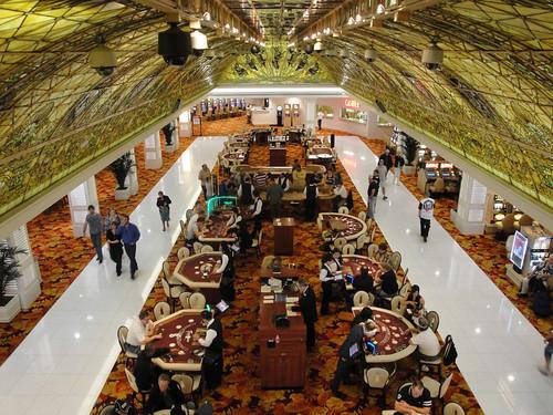 Tropicana renovated casino floor