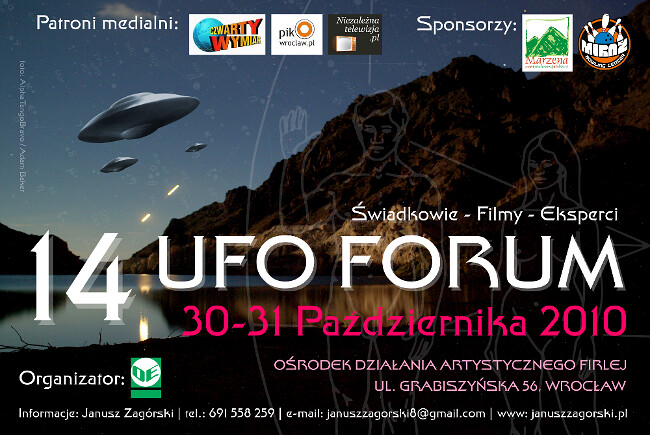 14 UFO Forum - Plakat