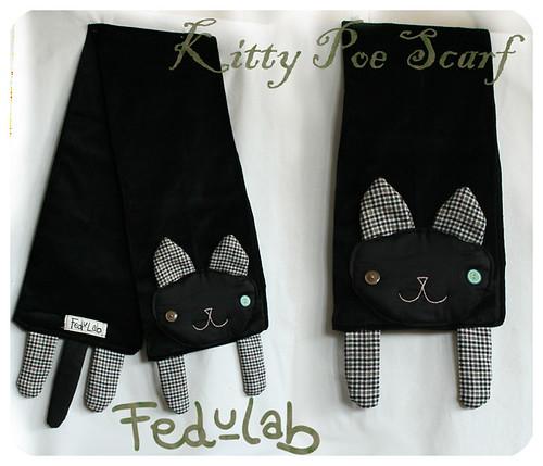 kittypoescarf