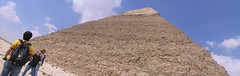 Panorama Great Pyramid (RossM) Tags: egypt pyramids theworld gizaegypt