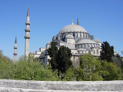 La mézquita de Suleyman el Magnifico