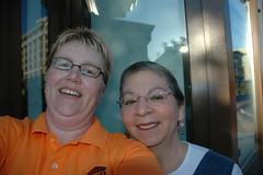 I met Nancy Pearl! (Lippy Librarian) Tags: nancypearl ala2007