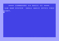 C64 screen