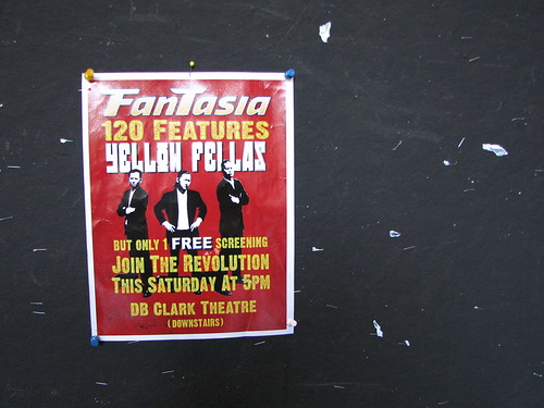 Yellow Fellas Fantasia poster