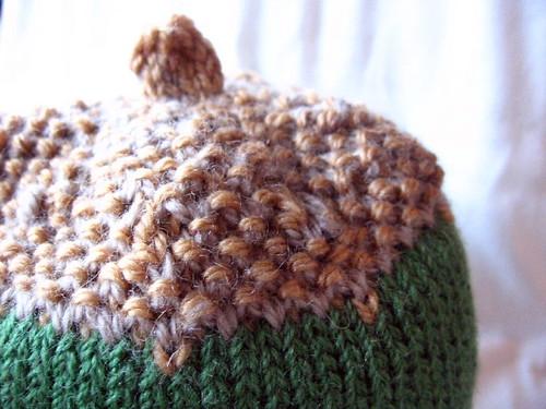 acorn hat detail