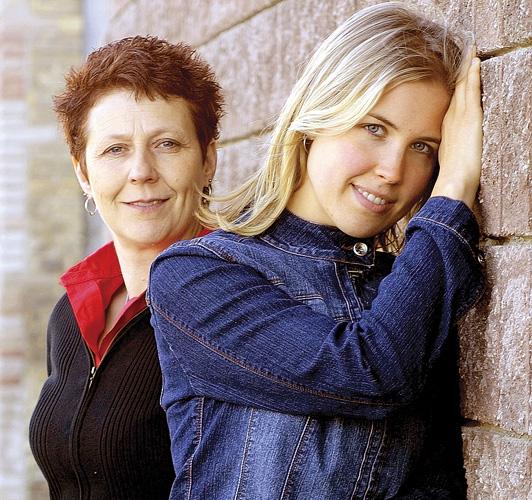 Stone Angels Gloria Martin and Angela Michielsen