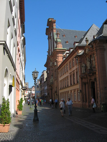 Old town Mainz, Germany