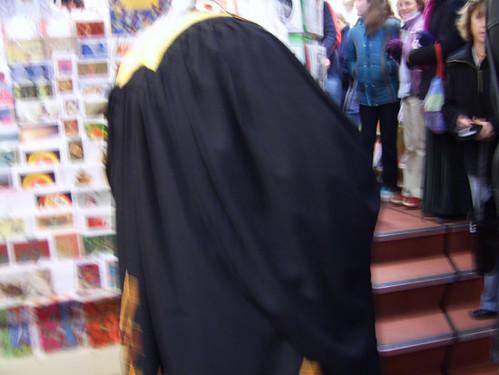 black cloak again