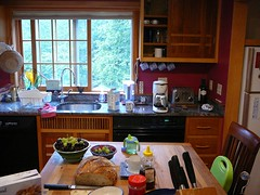 kitchen view--granite and teakwood throughout (alist) Tags: dublin newhampshire alist dublinnh robison cassiecleverly alicerobison