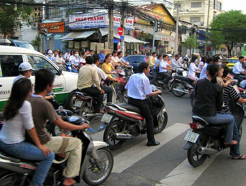 Intersection, Saigon