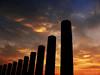 pillars (jobarracuda) Tags: china silhouette pillars panasoniclumix supershot dmcfz50 aplusphoto huojie jobarracuda superhearts jobar jojopensica fotocompetition fotocompetitionbronze
