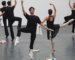 Cours public du ballet national de Cuba (Grand...
