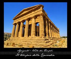 Sicilia - La valle dei Templi (Lonelywolphoto / Dan Enrietti) Tags: italy europa europe italia sicily hdr sicilia agrigento valledeitempli italians sonyalphadslr