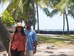 Pu`uhonua O Honaunau National Historical Park - Place of Refuge (akraj) Tags: vacation hawaii bigisland amu puuhonuaohonaunau placeofrefuge amudha