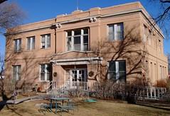 Harding County Courthouse (Mosquero, New Mexico) (courthouselover) Tags: newmexico courthouses usccnmharding hardingcounty mosquero 1920s 1921 countycourthouses nm northamerica unitedstates us