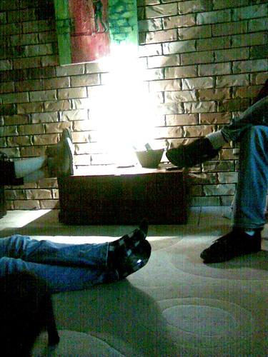 Movie Night Feet