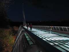 Sundial Bridge at Turtle Bay 10 (tgstewart1) Tags: california bridge sunset northerncalifornia sundial calatrava santiagocalatrava turtlebay reddingca sundialbridge sundialbridgeatturtlebay