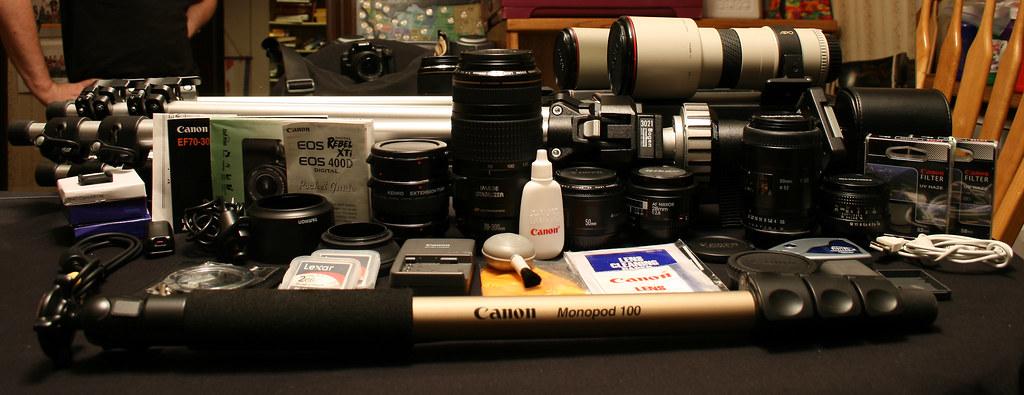 August 27, 2007: Camera Gear
