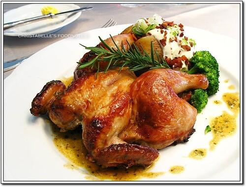世貿聯誼社西餐廳法式春雞