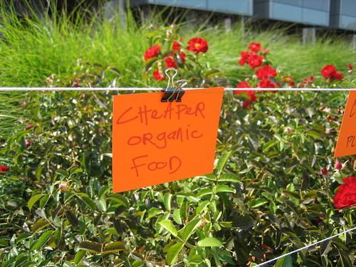 cheaper organic food© flickr.com/davidsilver
