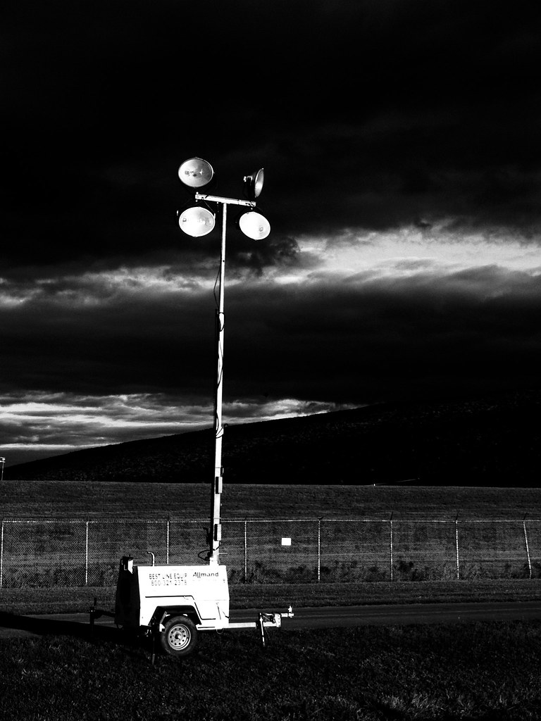 Lonely Lights B&W