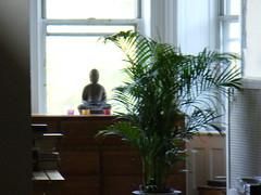 Blurry buddha