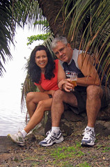 Regina and Jerry in Moorea