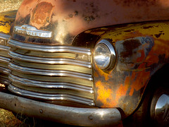 Antique Chevrolet Truck Detail