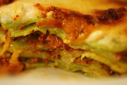 lasagna innards