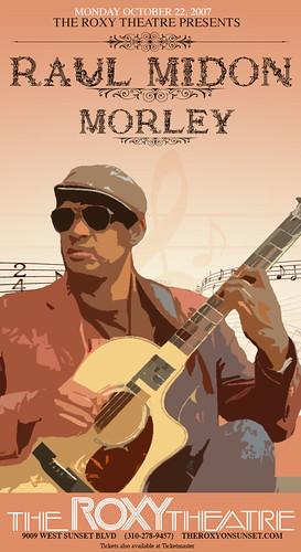 Raul Midon, Morley
