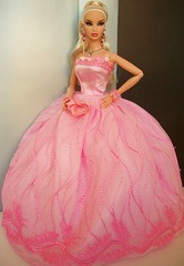 Pink  Cinderella (napudollworld) Tags: fashion night silver dance ken barbie prom killer fashionista quick tux gala royalty mattel kyori