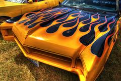 Fire Buick (marcovdz) Tags: auto france classic car vintage painting buick riviera flames voiture peinture collection provence hdr signes ancienne flammes classique 3xp