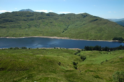 Loch Arklet and Ben Lomond in the distance