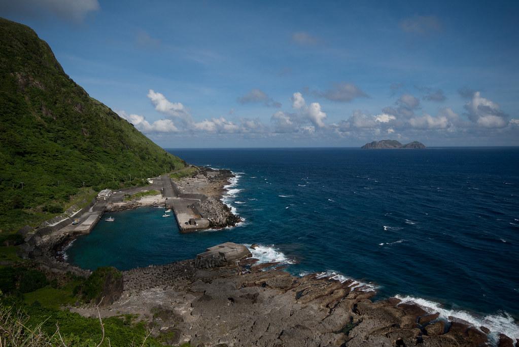 蘭嶼的海真的很藍