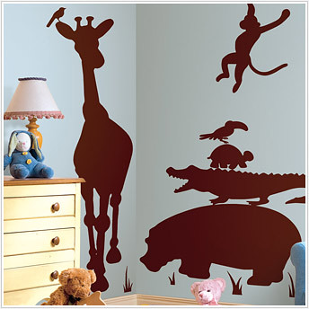 Jungle Animals Kids Decals