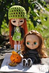 Aubrey questions Pia's pumpkin carving abilities