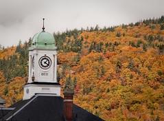 Maine Clock Tower (jimw630) Tags: autumn fall clock fallcolor maine clocktower fallfoliage rumford