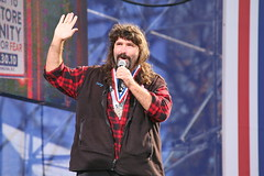 Mick Foley at The Rally to Restore Sanity and/or Fear